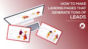 landinf pages that generate leads